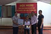Huyện Văn Lâm bàn giao nhà ở cho hộ nghèo