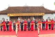 Lễ đón bằng xếp hạng di tích lịch sử văn hóa cấp tỉnh đền thờ Quốc tổ Lạc Long Quân