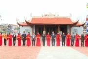 Lễ đón bằng xếp hạng di tích lịch sử văn hóa cấp tỉnh Đền thờ Triệu Việt Vương