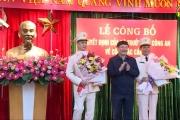 Trao Quyết định bổ nhiệm 2 Phó Giám đốc Công an tỉnh Hưng Yên