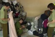 Xử phạt 70 triệu đồng hành vi kinh doanh vải cuộn không rõ nguồn gốc xuất xứ.