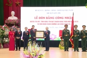 Huyện Yên Mỹ đón bằng công nhận đạt chuẩn nông thôn mới