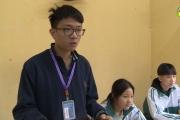 Hưng Yên: Em Đặng Tuấn Linh học sinh đầu tiên lọt vào vòng thi Quý cuộc thi Đường lên đỉnh Olympia.