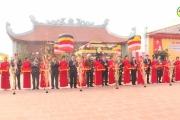 Ân Thi: Đón Bằng xếp hạng di tích lịch sử cấp tỉnh và khánh thành Đền thờ danh nhân Nguyễn Trung Ngạn