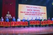 Hưng Yên Tổng kết công tác xây dựng Đảng năm 2020, Triển khai công tác xây dựng Đảng năm 2021