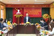 Bí thư Tỉnh ủy Đỗ Tiến Sỹ làm việc với  Liên đoàn lao động tỉnh, Ban quản lý các KCN tỉnh.
