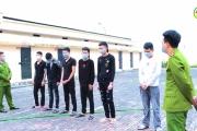 Công an huyện Khoái Châu khởi tố 11 đối tượng gây rối trật tự công cộng