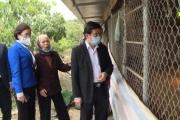 Đồng chí Nguyễn Duy Hưng thăm các mô hình sản xuất nông nghiệp tại Thị xã Mỹ Hào