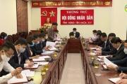 Dự kiến nội dung, chương trình kỳ họp thứ mười sáu, HĐND tỉnh khoá XVI.