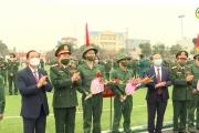 Huyện Văn Lâm tổ chức lễ giao nhận quân năm 2021