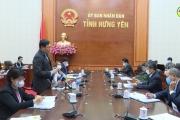 Kiểm tra công tác phòng chống dịch trong các doanh nghiệp, khu cụm công nghiệp tại tỉnh Hưng Yên