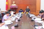 Ủy ban Bầu cử tỉnh tổ chức hội nghị tiếp tục triển khai các công việc chuẩn bị bầu cử