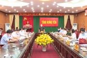 Ban thường vụ Tỉnh ủy họp về công tác phòng chống dịch và bầu cử