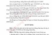 Hưng Yên thực hiện giãn cách xã hội toàn bộ xã Đông Ninh, huyện Khoái Châu phòng, chống dịch Covid - 19