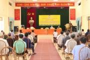Tiếp xúc cử tri với người ứng cử đại biểu Quốc hội và HĐND tỉnh tại huyện Yên Mỹ