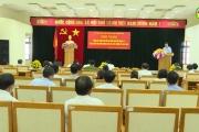 Thành phố Hưng Yên tổng kết công tác bầu cử