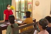 Chi hội trưởng phụ nữ thôn Bắc Khu - Điển hình trong thực hiện Chỉ thị 05