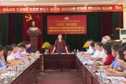 Hội nghị triển khai lấy ý kiến đánh giá sự hài lòng của người dân về xây dựng nông thôn mới cấp tỉnh