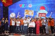 Nhìn lại khoảnh khắc đăng quang của tân vương Robocon Việt Nam 2017