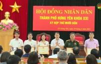 HĐND Thành phố Hưng Yên tổng kết nhiệm kỳ 2016-2021