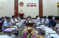 UBND tỉnh tổ chức phiên họp cho ý kiến một số nội dung quan trọng