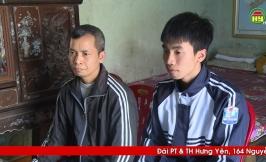 Tinh thần hiếu học vượt khó của em Đàm Hồng Dương , Trường THPT Văn Giang