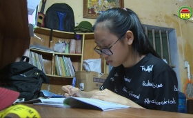 Ước mơ trở thành bác sỹ của em Đoàn Thị Thu Linh ở Khoái Châu