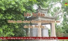 Lầu Tư Văn những minh chứng về truyền thống hiếu học của làng Phù Ủng