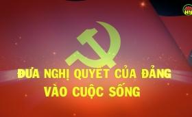 Xã Tân Hưng đưa nghị quyết của Đảng vào cuộc sống