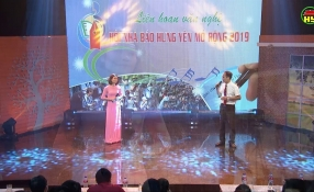Liên hoan văn nghệ hội nhà báo Hưng Yên mở rộng năm 2019