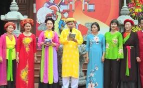 Lưu giữ hồn quê giữa 2 làng Nhân Vũ và Mễ Xá, xã Nguyễn Trãi, huyện Ân Thi, tỉnh Hưng Yên.