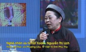 Khách mời văn nghệ sĩ: NNƯT Nguyễn Thị Lịch