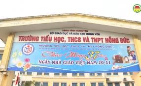 Phóng sự: Trường tiểu học, THCS & THPT Hồng Đức
