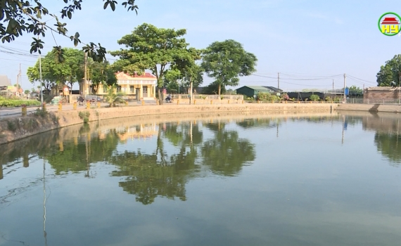 Huyện Văn Giang chung tay gìn giữ ao làng