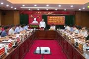 Đồng chí Bí thư Tỉnh ủy làm việc với BTV Thành ủy Hưng Yên