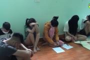 Xử lý vi phạm quy định về phòng chống dịch và sử dụng trái phép chất ma túy ở huyện Văn Giang