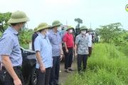 Phó Chủ tịch UBND tỉnh kiểm tra khắc phục mưa lớn