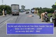 Vụ tai nạn giao thông nghiêm trọng làm chết 2 người
