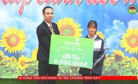Ước mơ trở thành bác sỹ của em Lê Thị Minh Ngọc, học sinh trường THPT Kim Động
