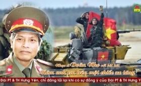 """Nhạc sĩ Doãn Nho với bài hát """" Năm anh em trên một chiếc xe tăng """""""