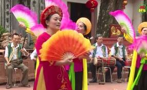 Lưu giữ hồn quê: Giao lưu văn hóa xã Thanh Long, huyện Yên Mỹ