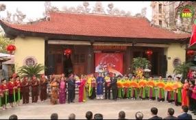 Lưu giữ hồn quê: Làng văn hóa Văn Nhuế và Cộng Hòa thị trấn Bần Yên Nhân huyện Mỹ Hào.