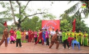 Lưu giữ hồn quê: Làng văn hóa Đình Dù - Xuân Lôi xã Đình Dù, huyện Văn Lâm.