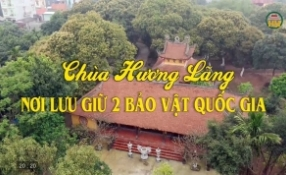 Chùa Hương Lãng - Nơi lưu giữ 2 bảo vật quốc gia