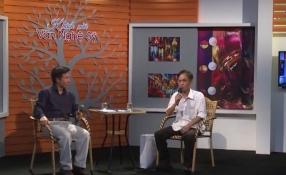 Khách mời văn nghệ sỹ: Nhà thơ Hoàng Nhuận Cầm.