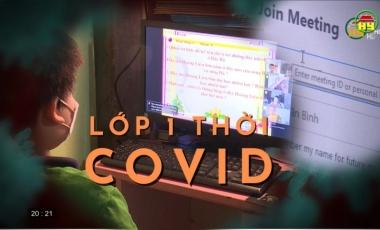 Lớp 1 thời Covid