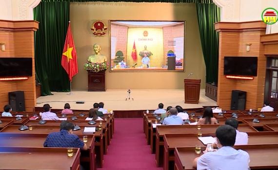 Hội nghị trực tuyến toàn quốc về công tác phòng chống dịch Covid - 19